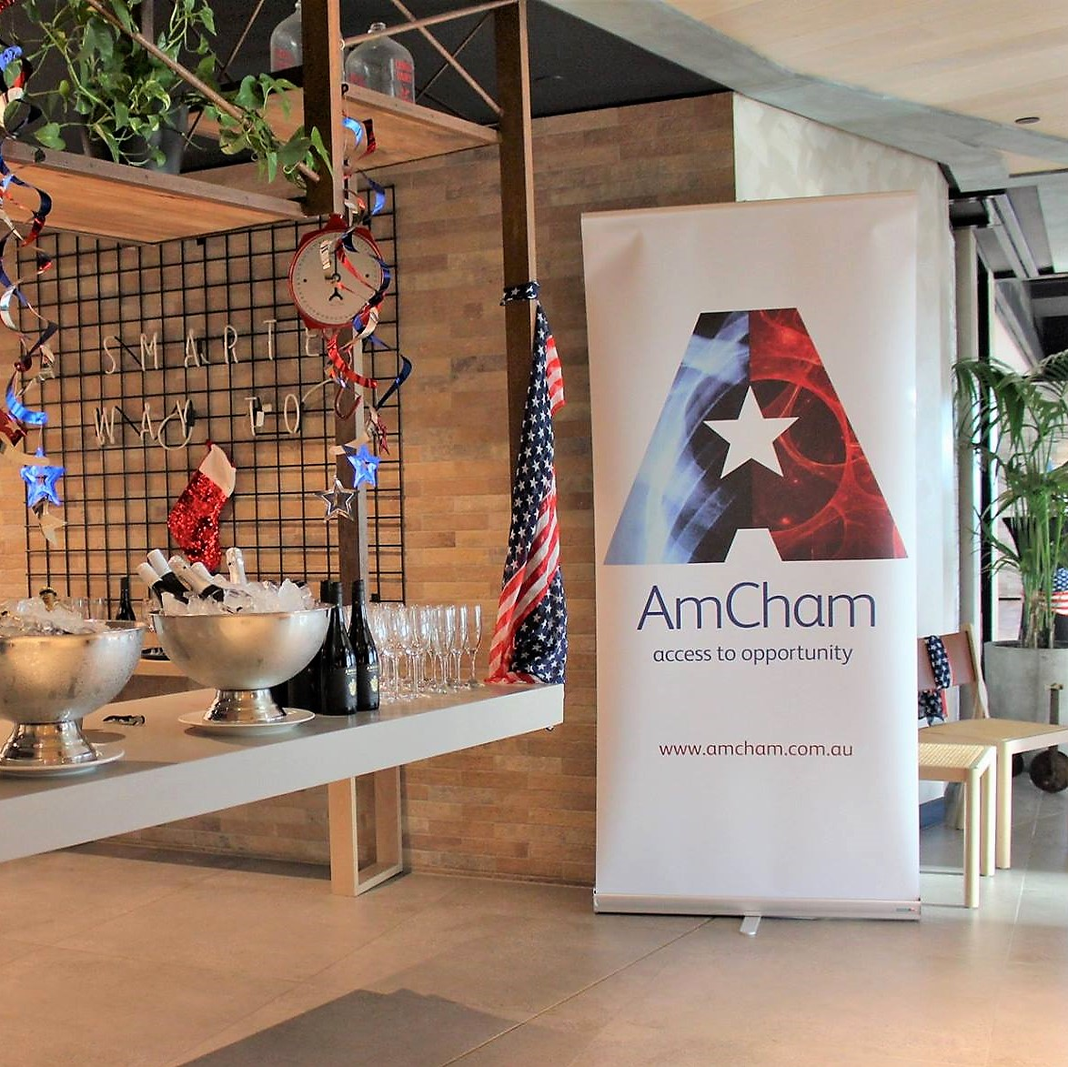 AmCham Network Access Co-Hosted By Dexus Place - August 2019